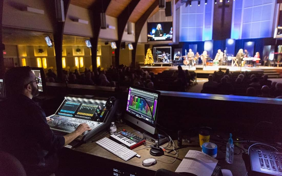 Audio systems for Churches