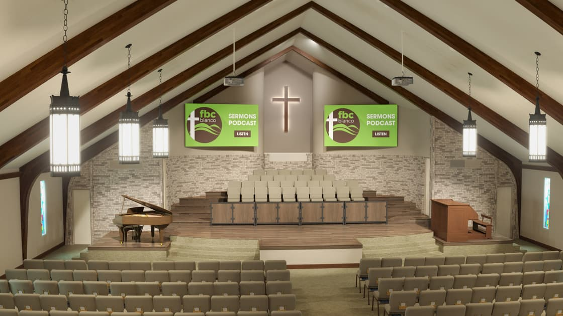 Church Audio Installation