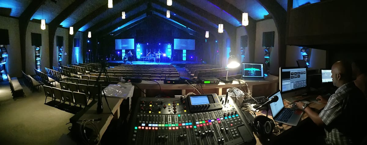 Church Audio System Installations